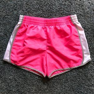 Danskin Now pink running shorts